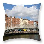 Dublin Scenery Throw Pillow