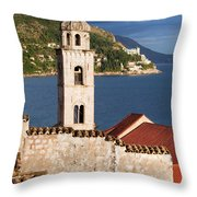 Dubrovnik Architecture Throw Pillow