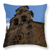 Dubrovnik Church Throw Pillow