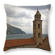 Dubrovnik View 3 Throw Pillow