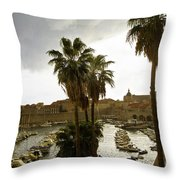Dubrovnik View 6 Throw Pillow