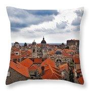 Dubrovnik View 7 Throw Pillow