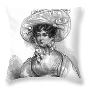 Duchess Of Kent (1786-1861) Throw Pillow by Granger