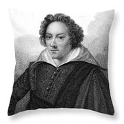Dudley North (1602-1677) Throw Pillow