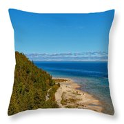 Due West Throw Pillow