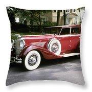 Duesenberg, 1930 Throw Pillow