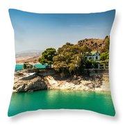 Duke House In El Chorro Lake District. Spain Throw Pillow