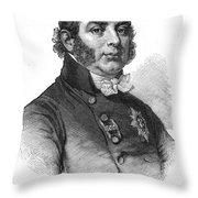 Duke Of Kent (1767-1820) Throw Pillow