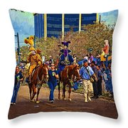 Dukes Of Rex - Impasto Throw Pillow
