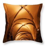Duke's Palace Arched Ceiling Throw Pillow