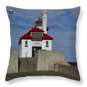 Duluth S Pierhead 23 Throw Pillow