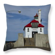 Duluth S Pierhead 24 Throw Pillow