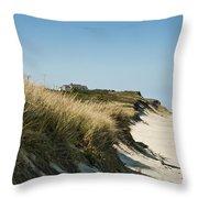 Dune Shack Throw Pillow