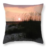 Dune Sunset Throw Pillow