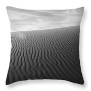Dunes 3 Throw Pillow