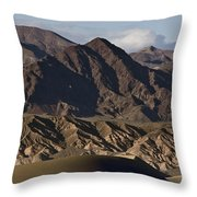 Dunes Of Death Valley Throw Pillow