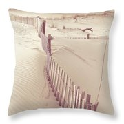 Dunes On The Cape Throw Pillow