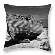Dungeness Decay Throw Pillow