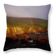 Dunquin Harbour, Dingle Peninsula,co Throw Pillow