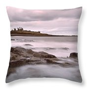 Dunstanburgh Castle IIi Throw Pillow