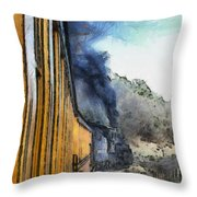 Durango Silverton Painterly 3 Throw Pillow