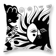 Dusk Dancer Throw Pillow