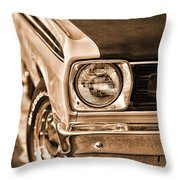 Duster 340 Throw Pillow