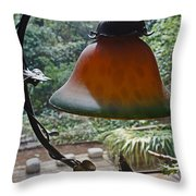 Dusty Old Lamp In Morning Light Throw Pillow