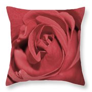 Dusty Rose Throw Pillow