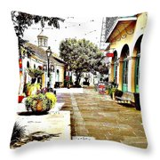 Dutch Alley  Throw Pillow