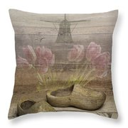 Dutch Heritage Throw Pillow