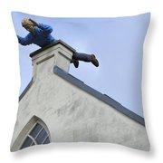 Dutch Humor Throw Pillow