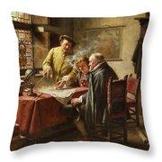 Dutch Merchants Throw Pillow
