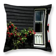 Dutch Window Throw Pillow