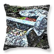 Duty Is Done - Warship Anchor Throw Pillow
