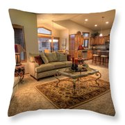 Dvth Living Room Throw Pillow