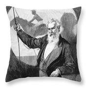 Eadweard Muybridge Throw Pillow