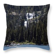Eagle Falls Throw Pillow