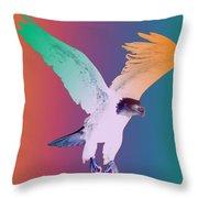 Eagle Five Throw Pillow
