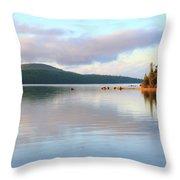 Eagle Lake  Throw Pillow