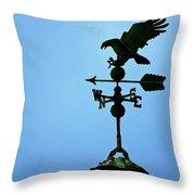 Eagle Weathervane Throw Pillow