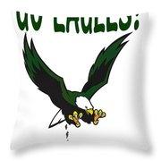 Eagles Vs Dallas Throw Pillow