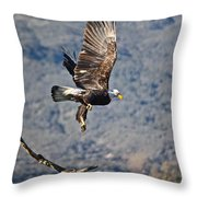 Eagle's Wings Throw Pillow