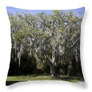 Ear Tree Throw Pillow