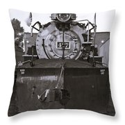 Early Call - Bw Throw Pillow