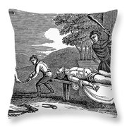 Early Christian Martyrs Throw Pillow by Granger