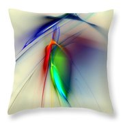 Early Death Of A Tulip Throw Pillow