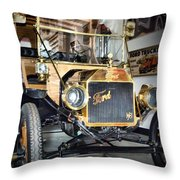 Early Ford Throw Pillow