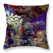 Early In The Cycle Throw Pillow