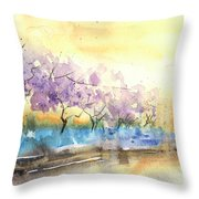 Early Morning 26 Throw Pillow